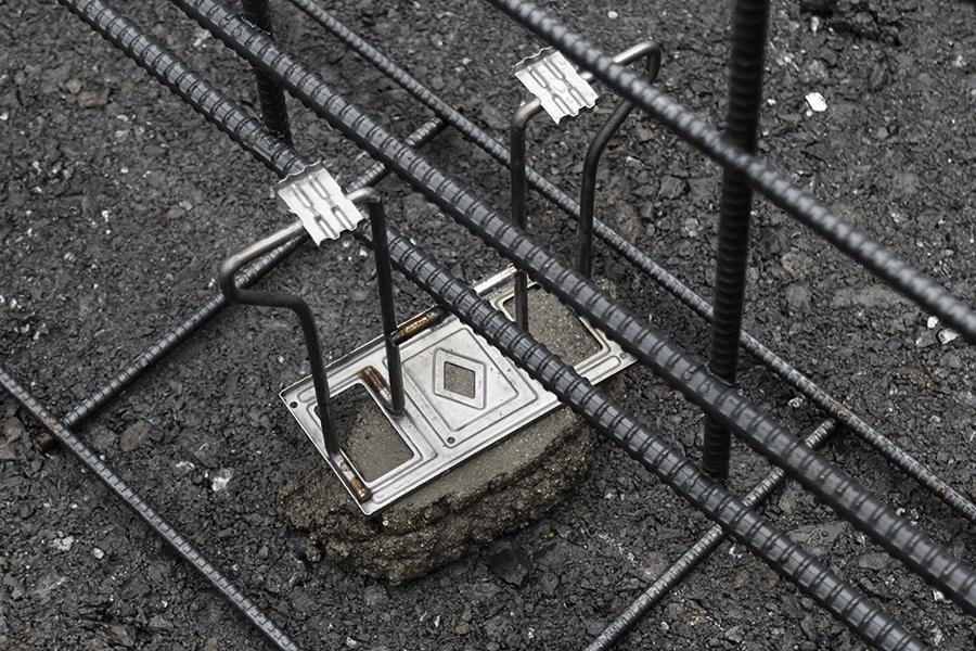 へーベルハウスの配筋工事