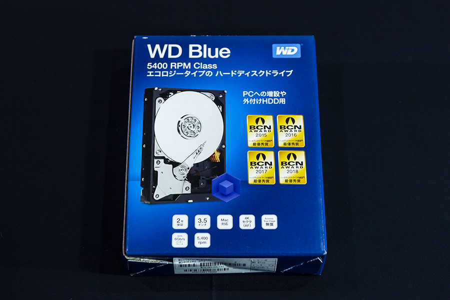 4TB WD Blue PC 3.5インチ