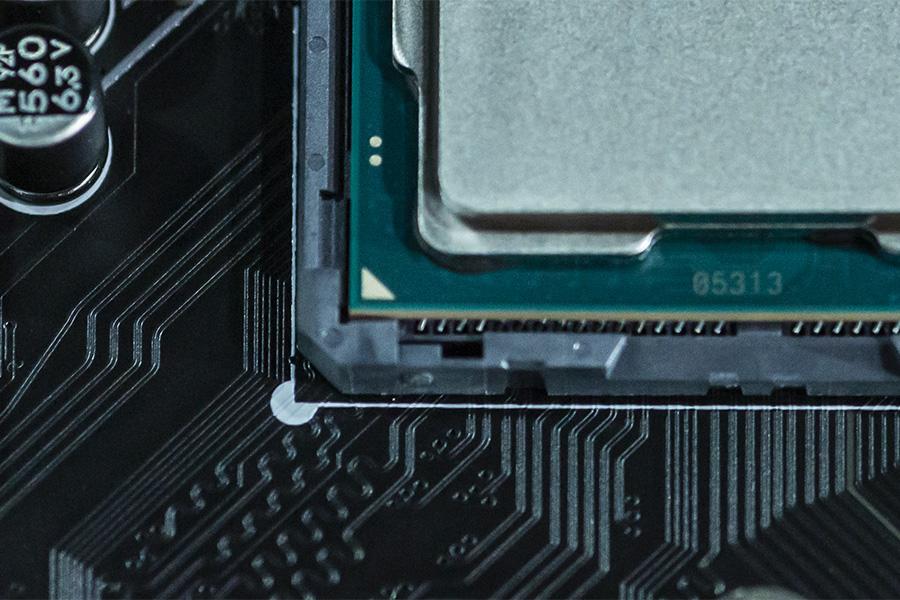 CPUの向きに注意