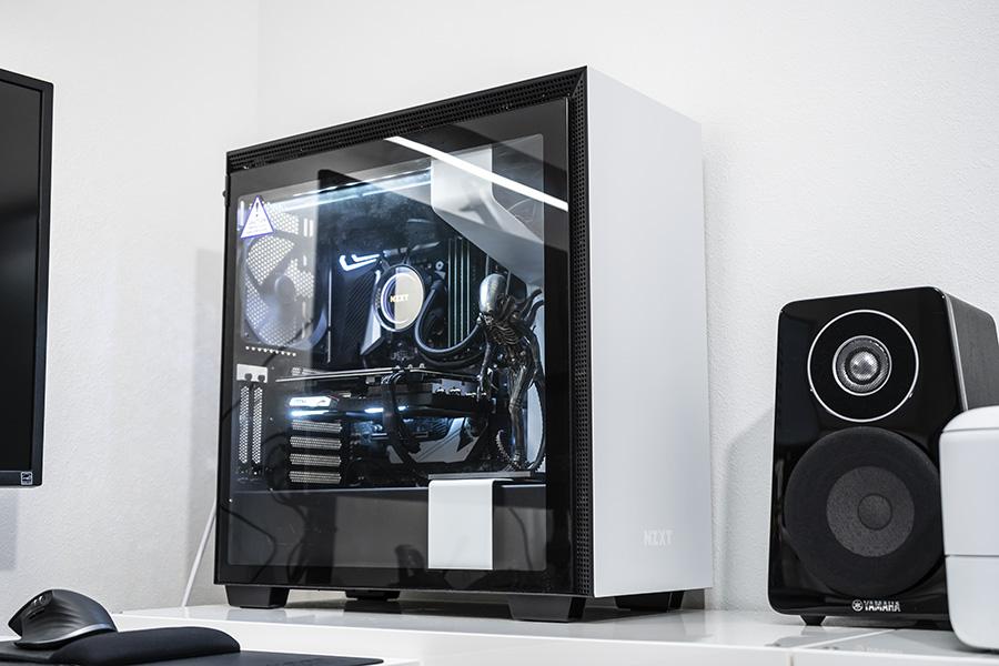 完成したMy PC!